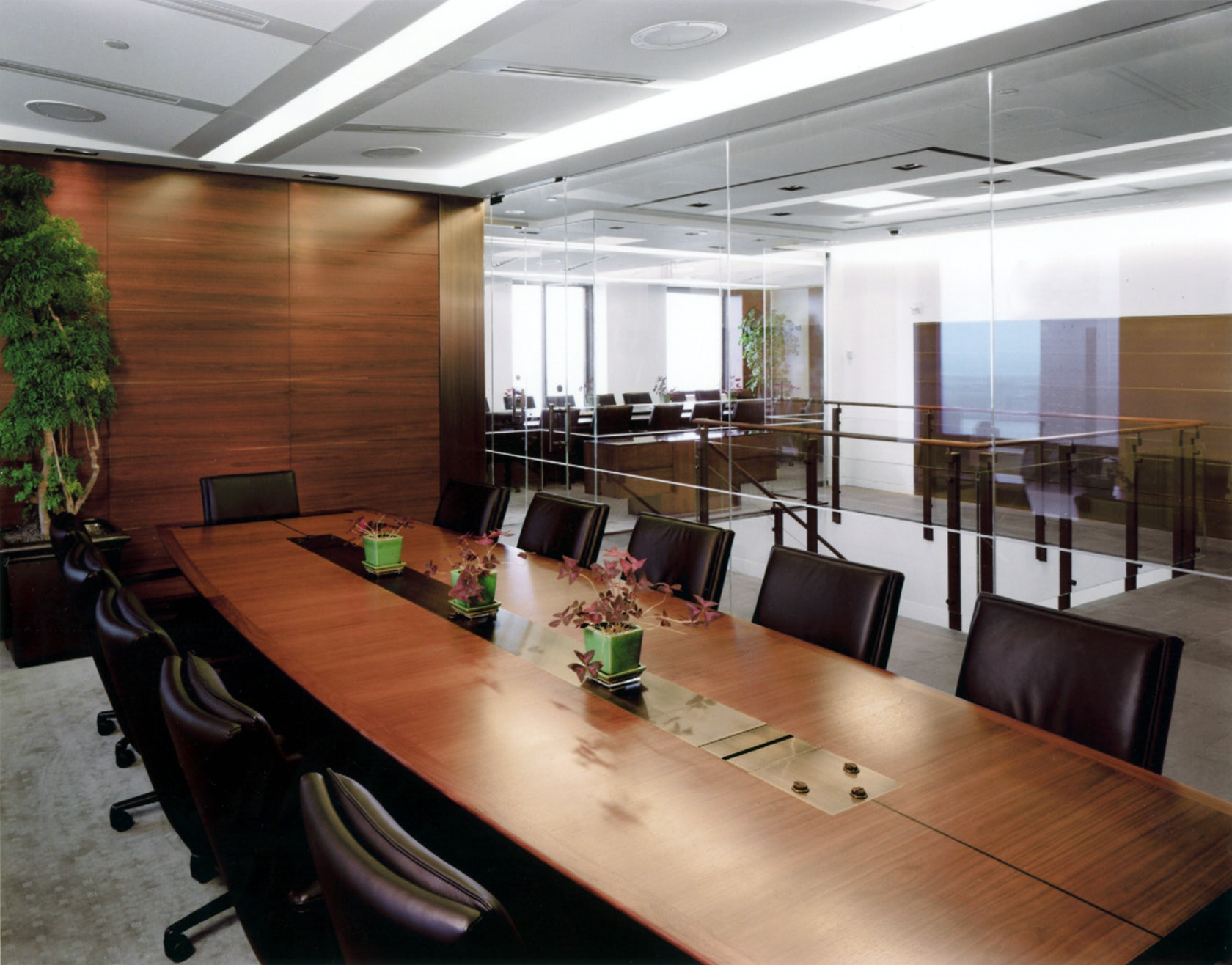 Hedge Fund Conference Room