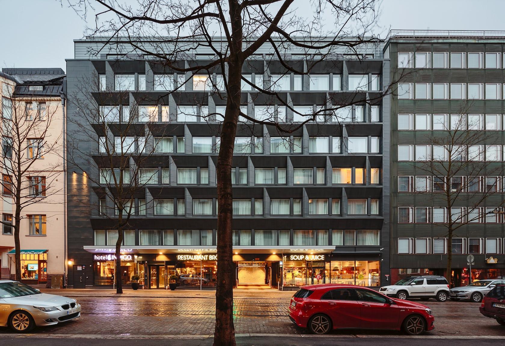 Hotel Indigo Helsinki Boulevard Architizer