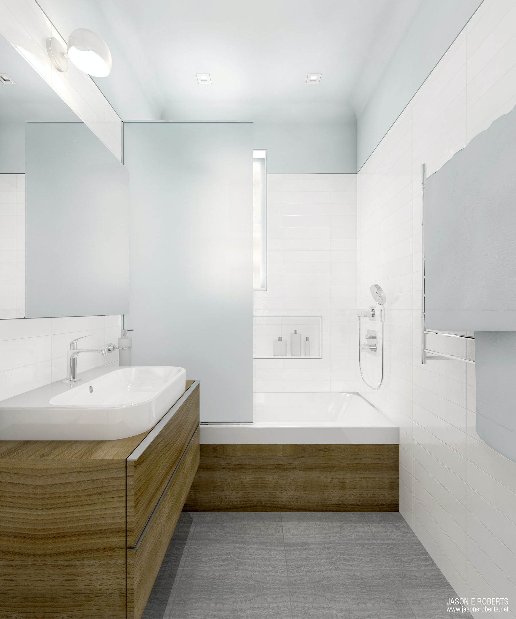 Build In Bathroom Design : Duravit designer dream bath competition call for entries