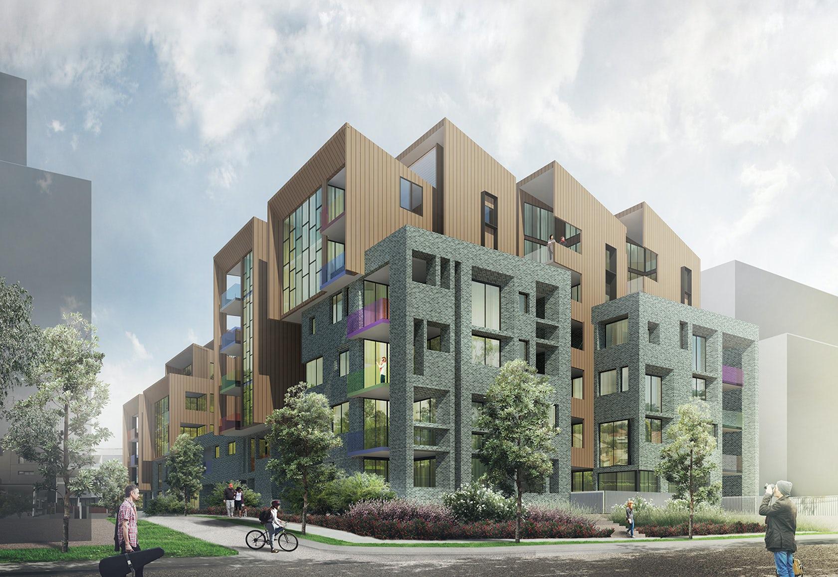 Eve Street Apartments Architizer