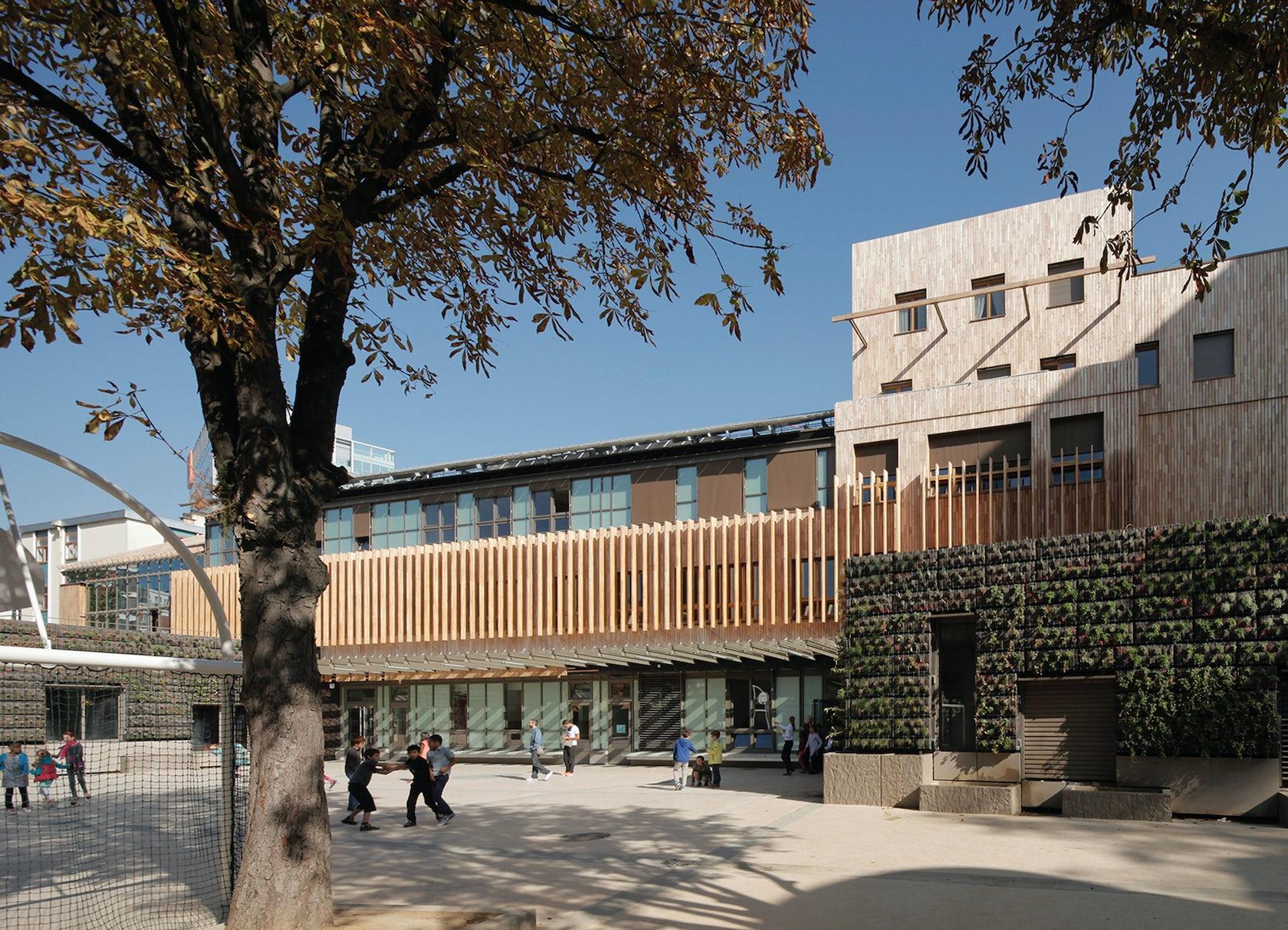 Eco nursery primary school architizer - Olivier de serres ensaama ...