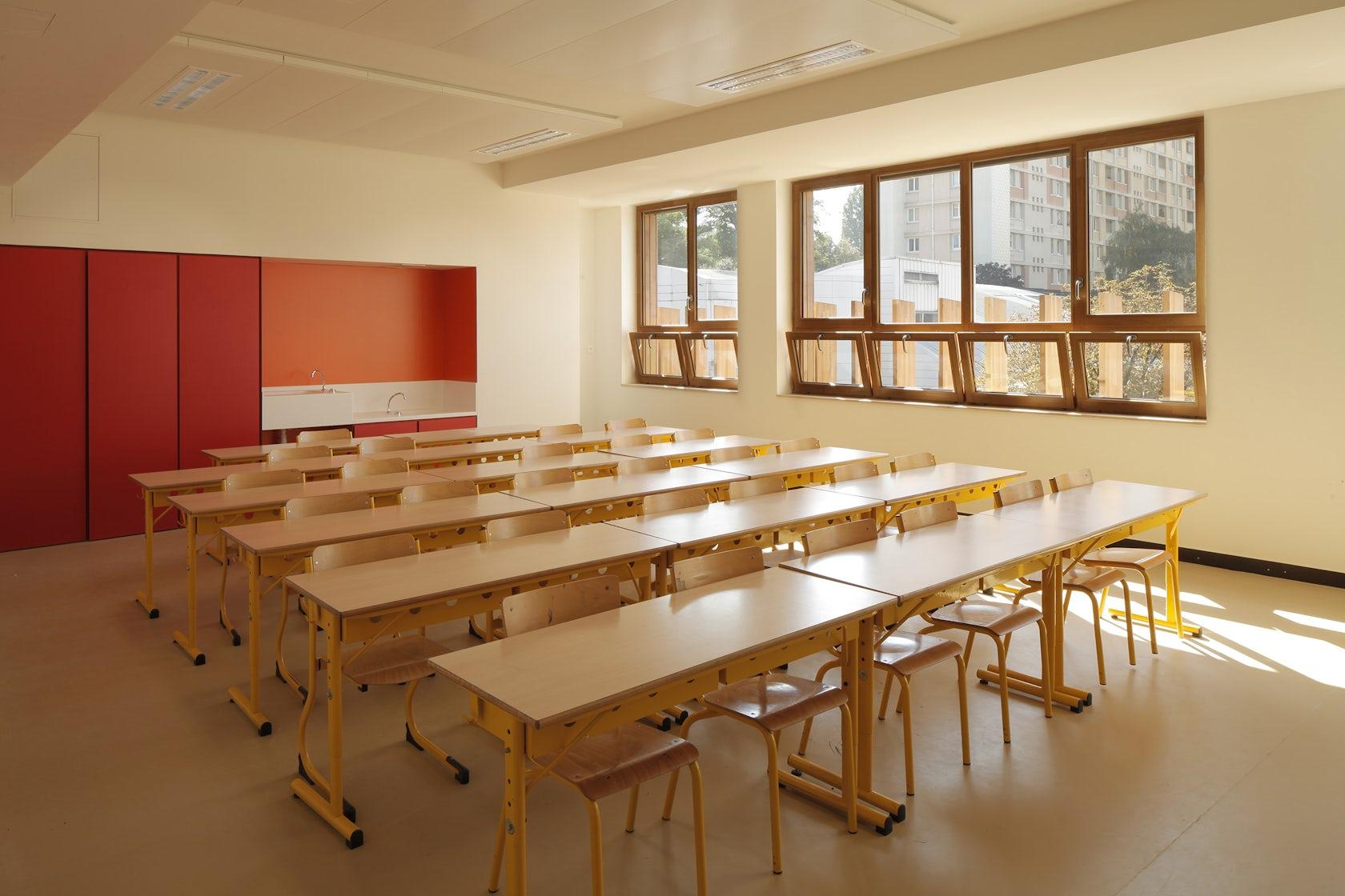 eco nursery primary school architizer. Black Bedroom Furniture Sets. Home Design Ideas