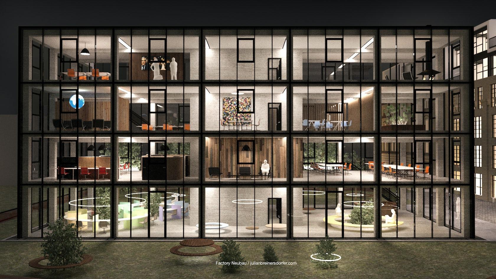 Factory Neubau on Architizer