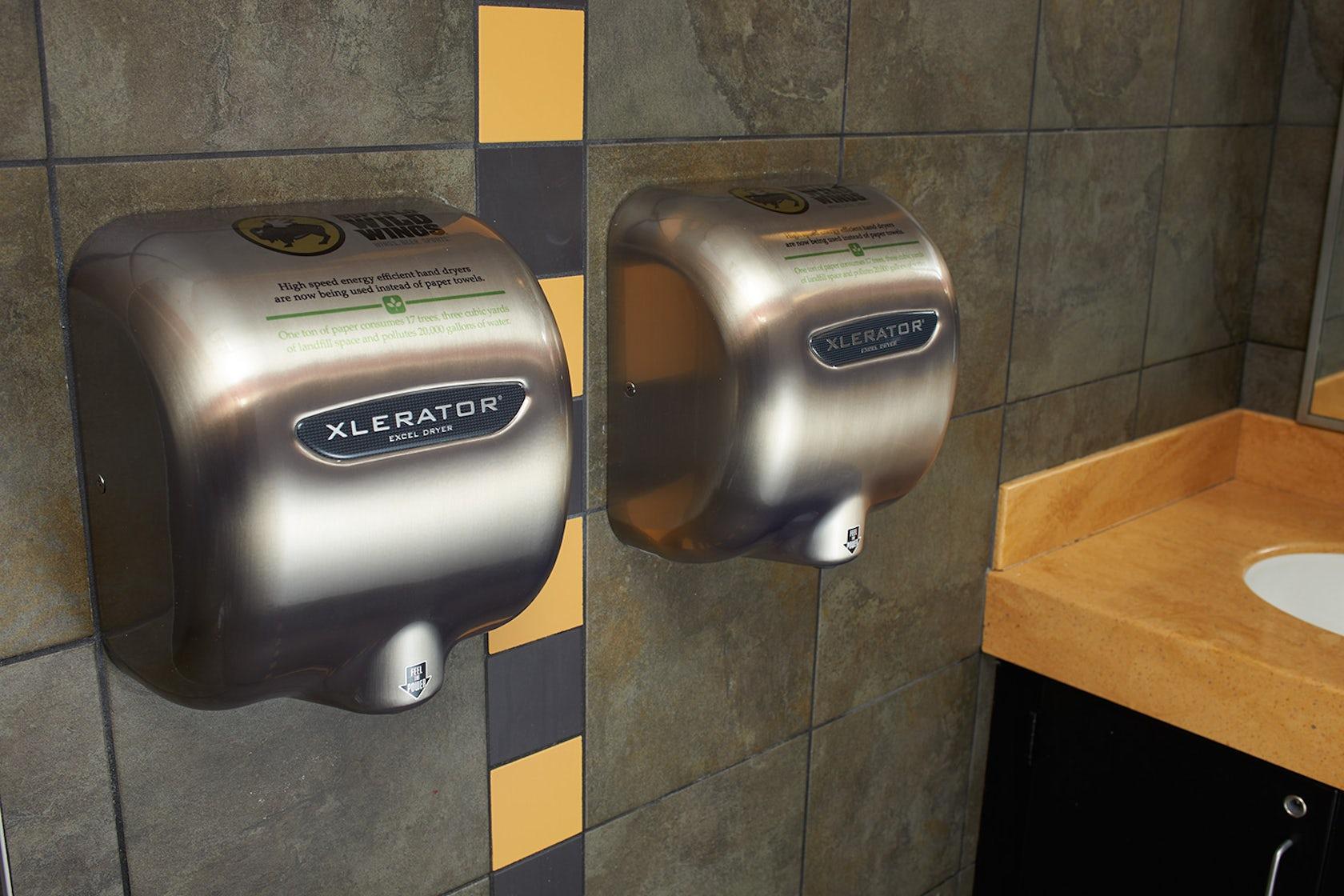 High-Speed, Energy-Efficient XLERATOR® Hand Dryer - Architizer