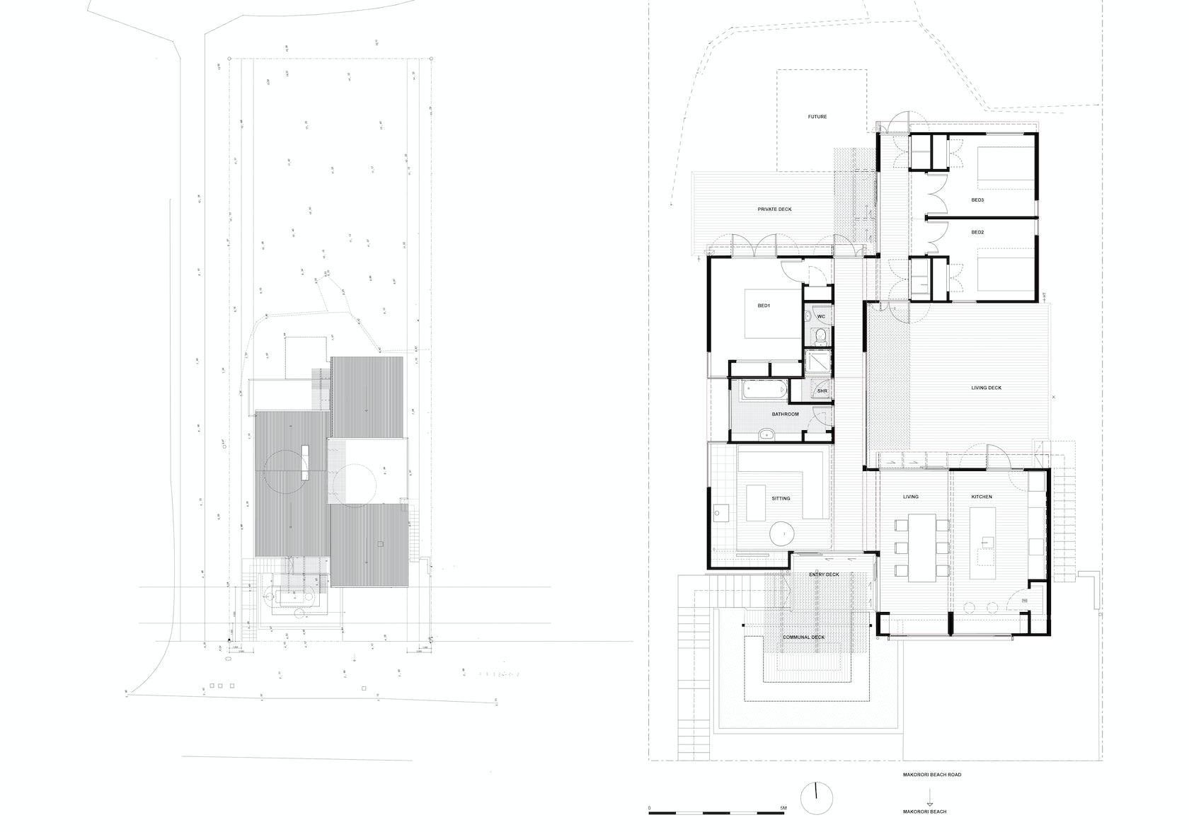 Offset shed house architizer - Maison mountain range irving smith jack ...