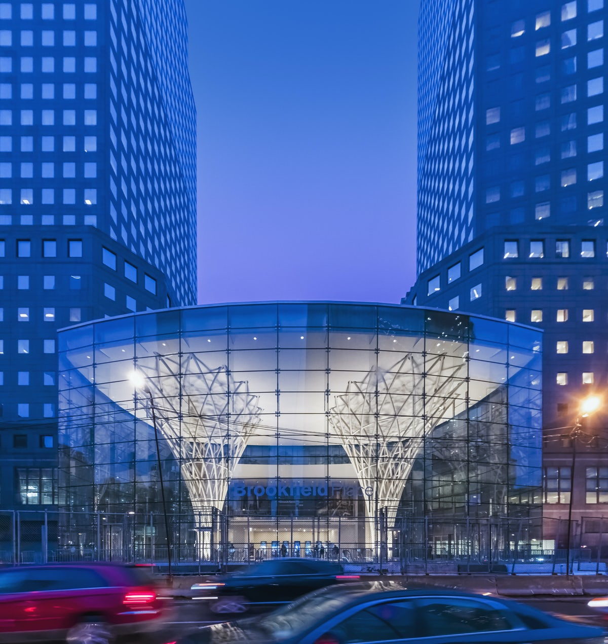 winter garden world financial center on architizer
