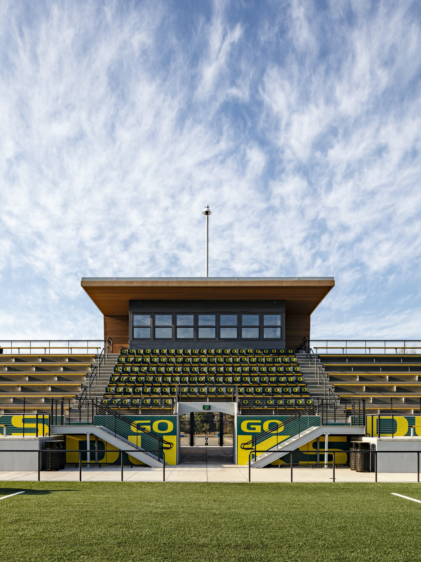 Southern Auto Group >> Papé Field at the Univesity of Oregon - Soccer and Lacrosse Complex - Architizer