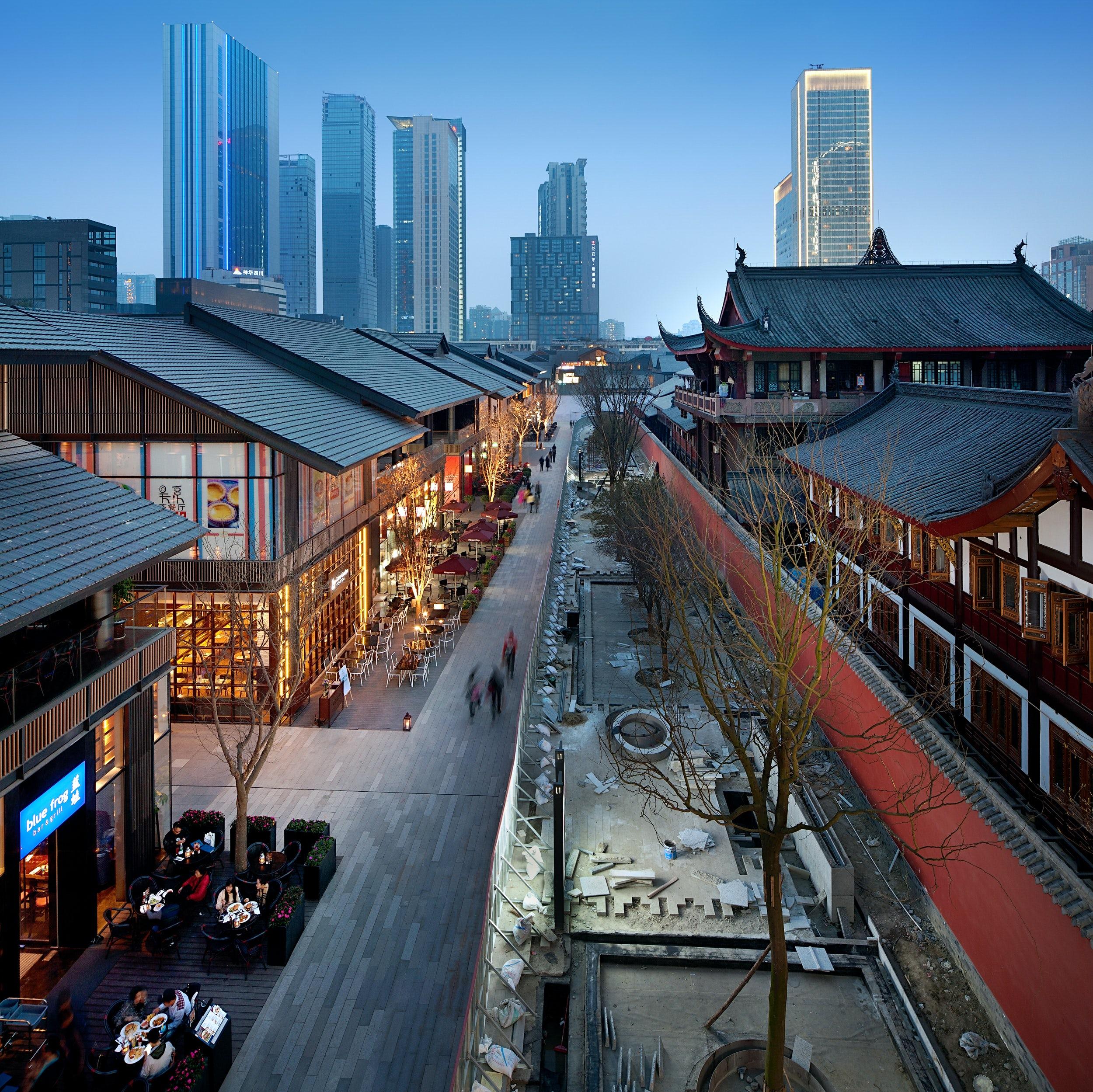 Sino-Ocean Taikoo Li Chengdu - Architizer