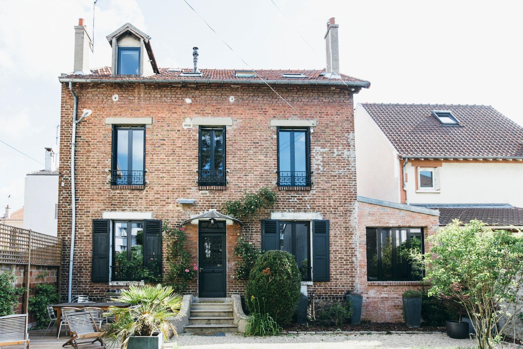 Maison bois colombes architizer - Maison parisienne ...