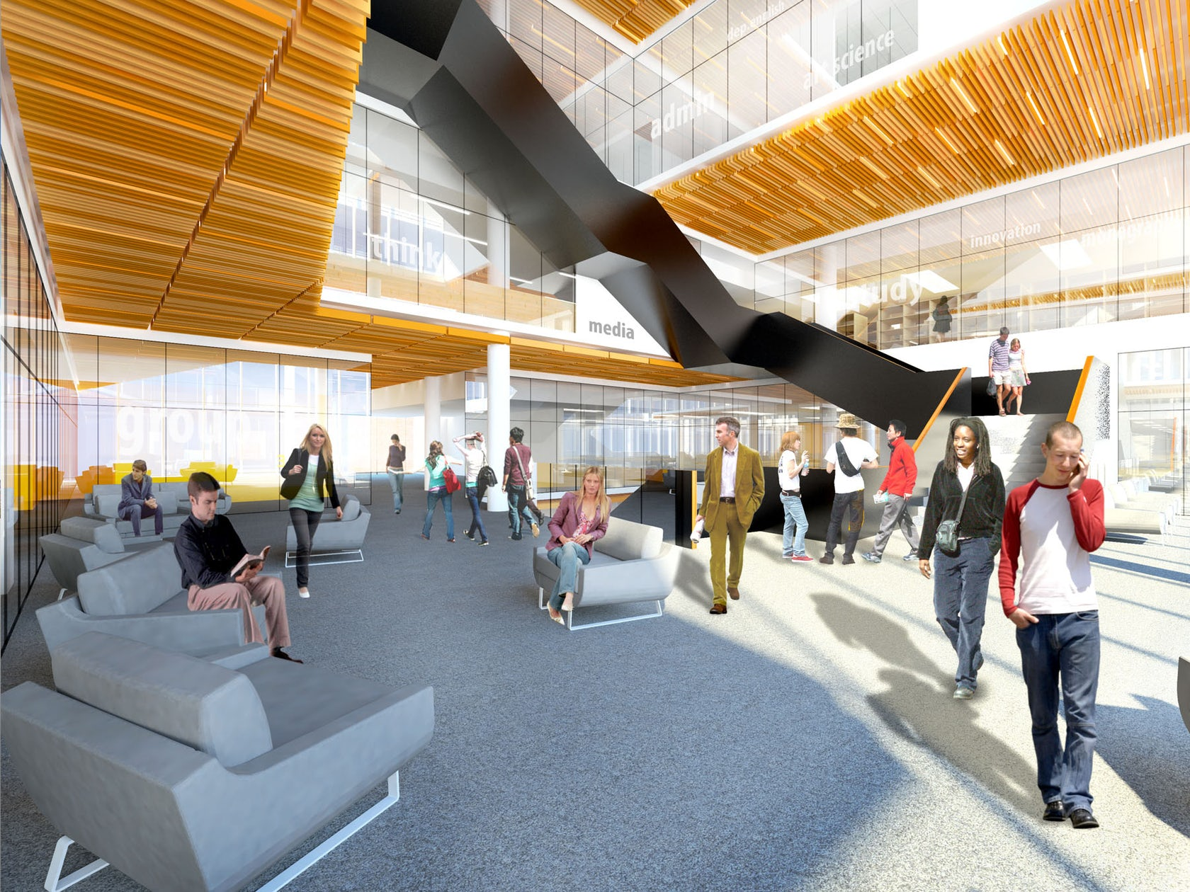 Humber College Learning Resource Commons - Architizer