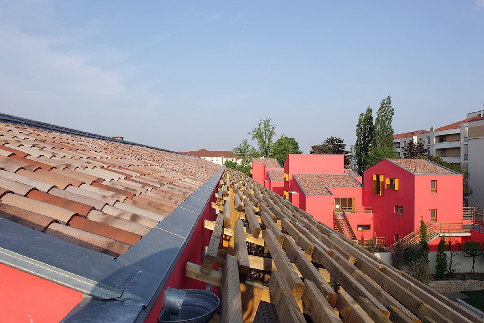 30 social housing units villefranche sur sa ne architizer - Hbvs villefranche sur saone ...