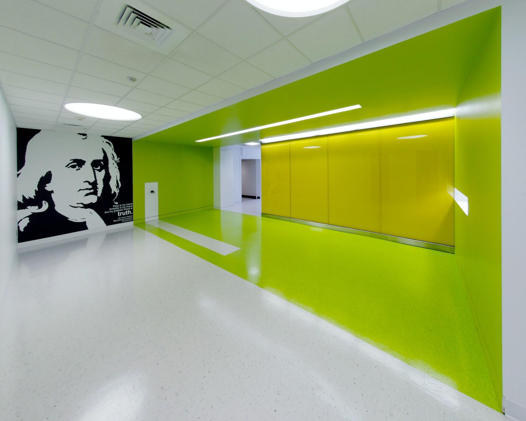 Cheek hall renovation missouri state university architizer - Harrington institute of interior design ...