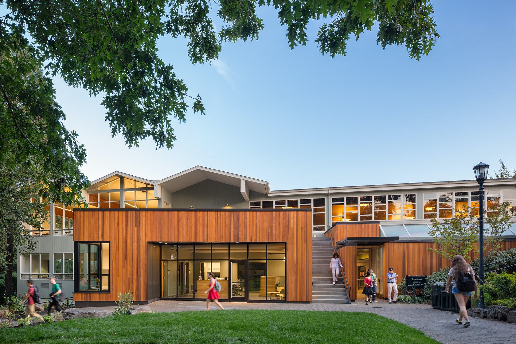 Lewis Amp Clark College Career Center Architizer