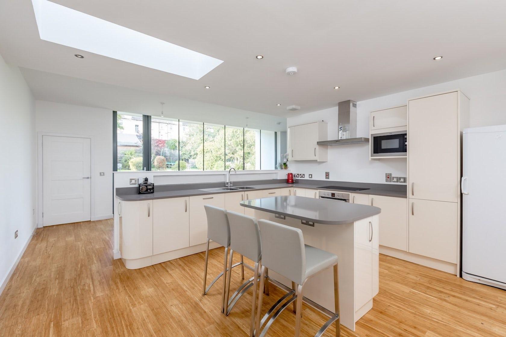 Contemporary house extension corstorphine edinburgh for Kitchen ideas edinburgh