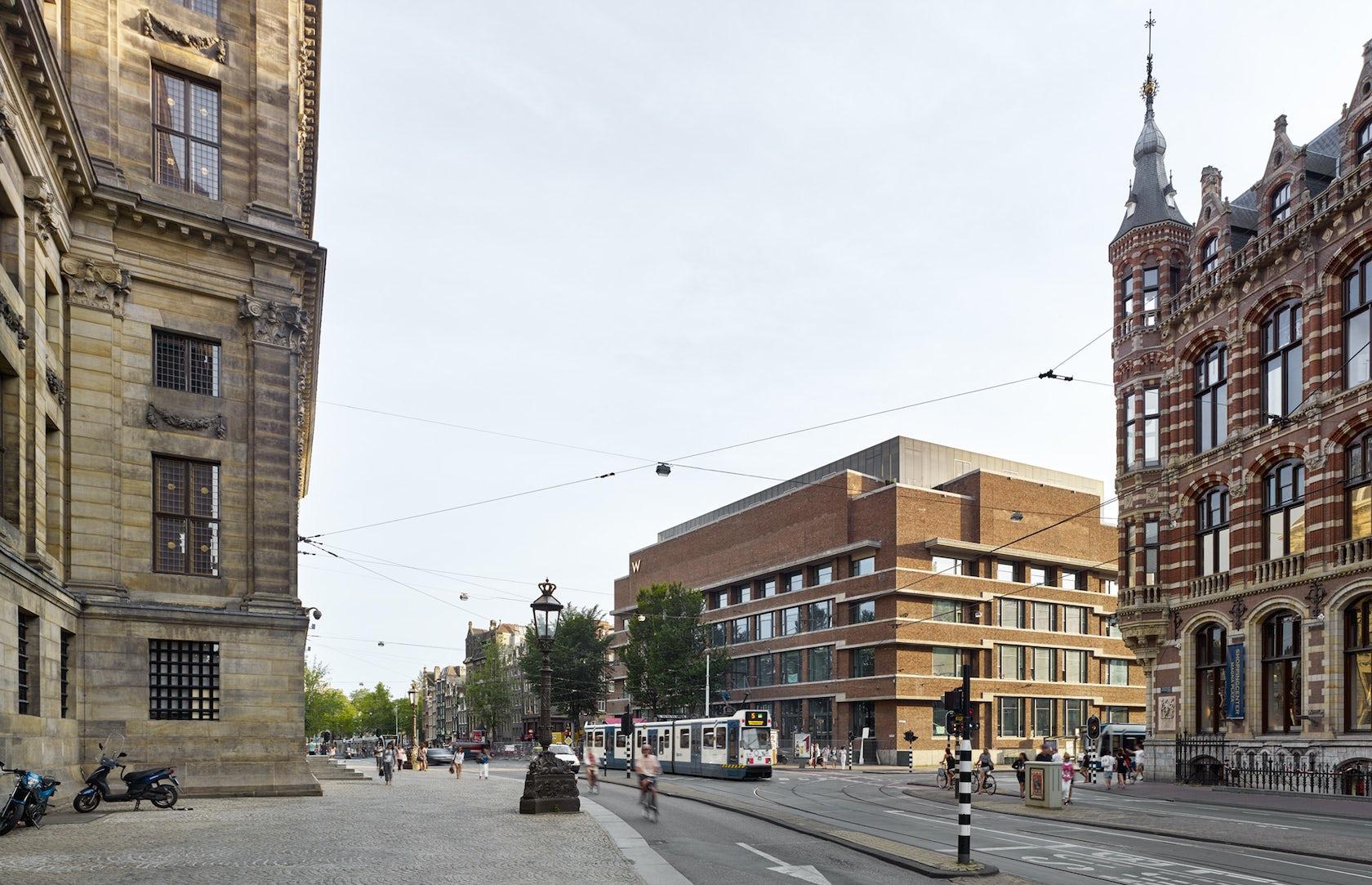 W Hotel Amsterdam Architizer