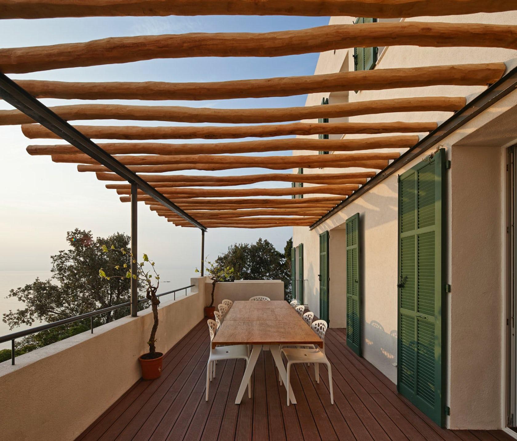 renovation villa le trident architizer. Black Bedroom Furniture Sets. Home Design Ideas