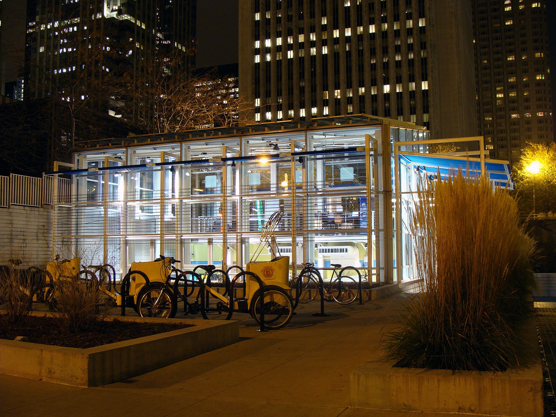 Mcdonald S Cycle Center Architizer