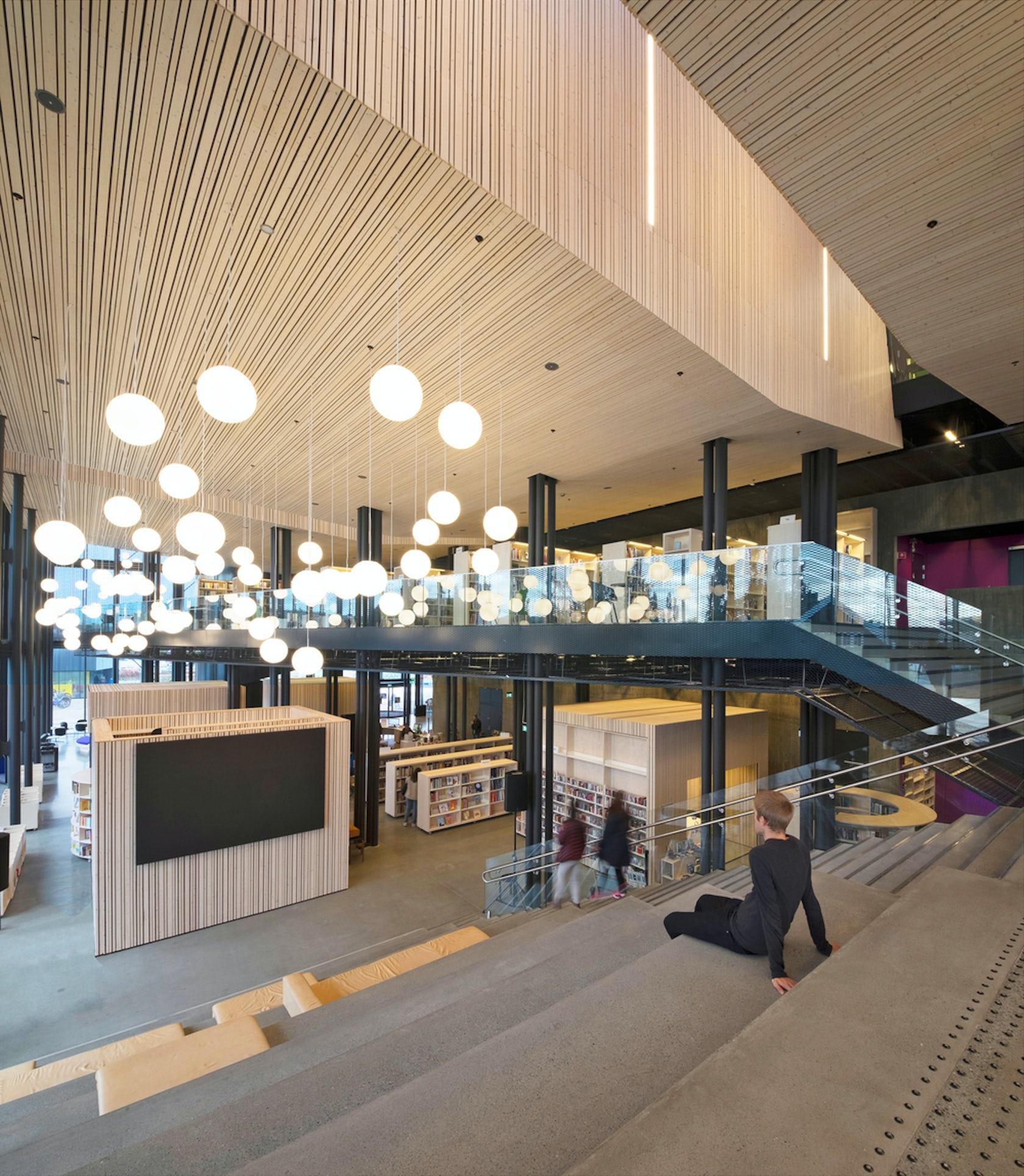 Hall Arch Designs For: Cultural Center Stjørdal