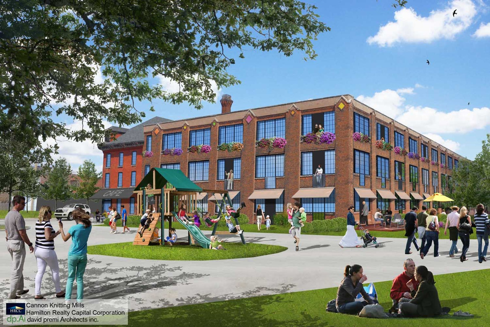 Cannon Knitting Mills Hamilton : Cannon knitting mills a new vision for urban life in