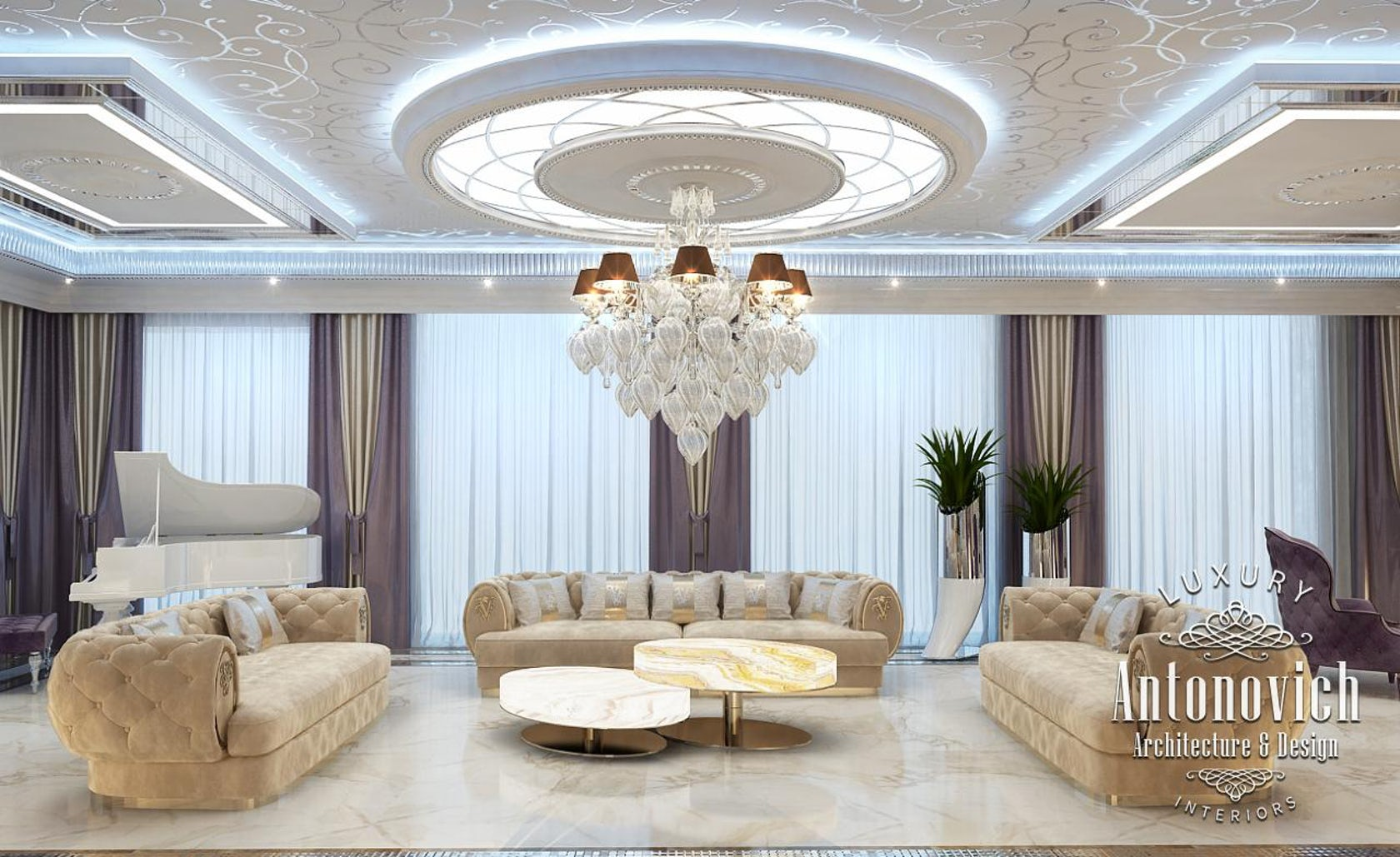 . Luxury interior design Dubai from Katrina Antonovich on Architizer