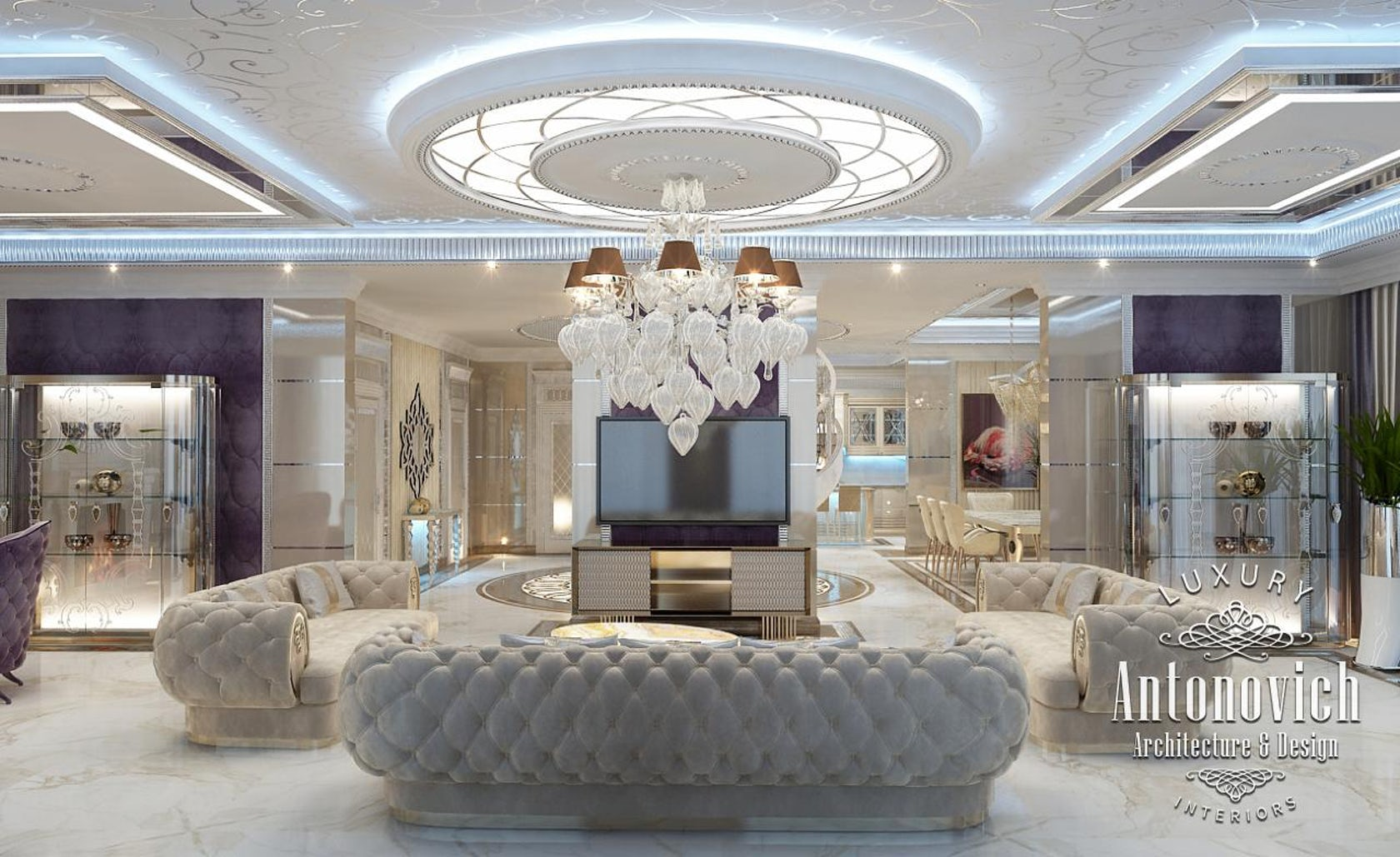 Luxury interior design dubai from katrina antonovich architizer - Interior design dubai ...