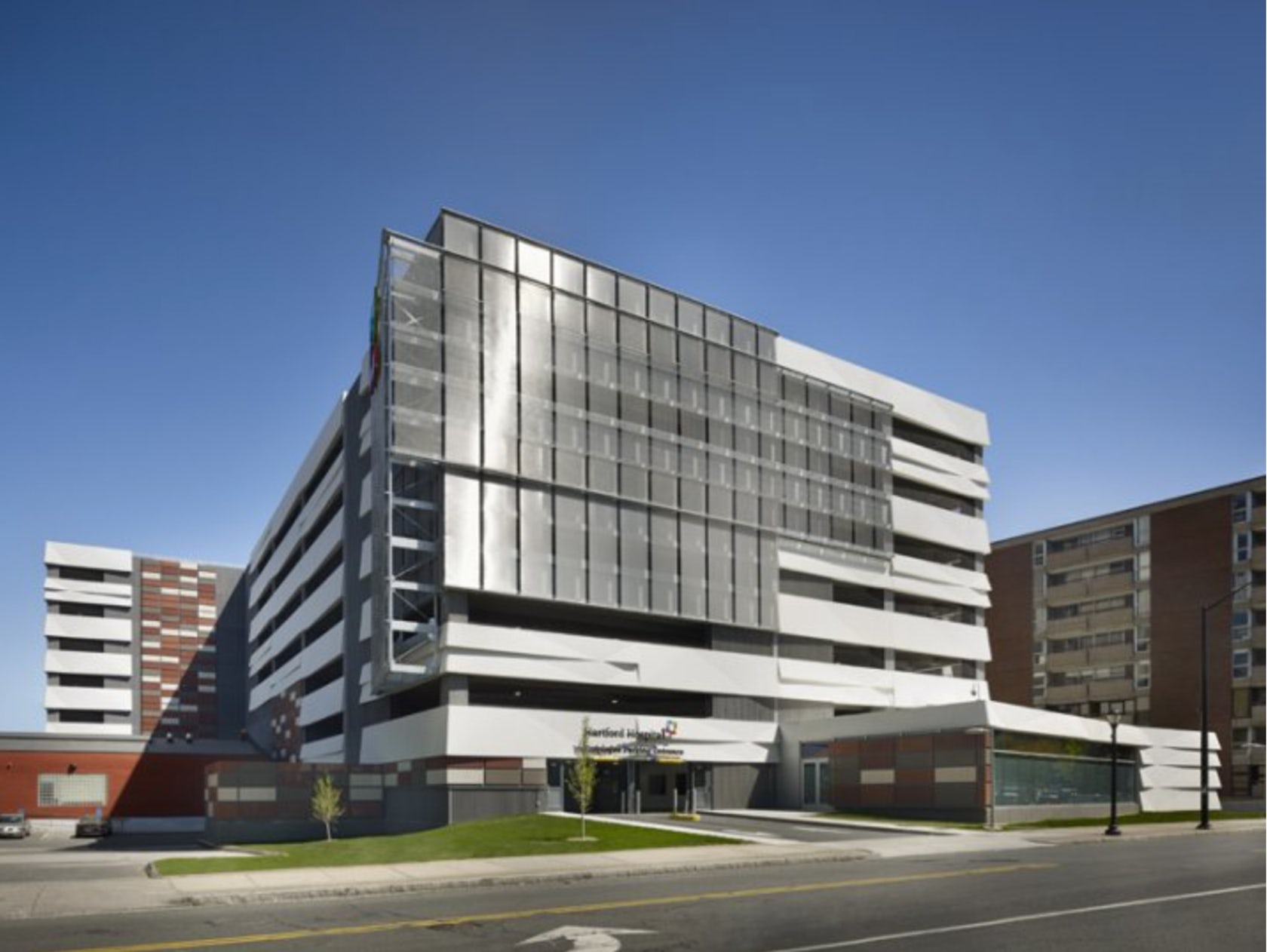 Hartford hospital parking garage architizer