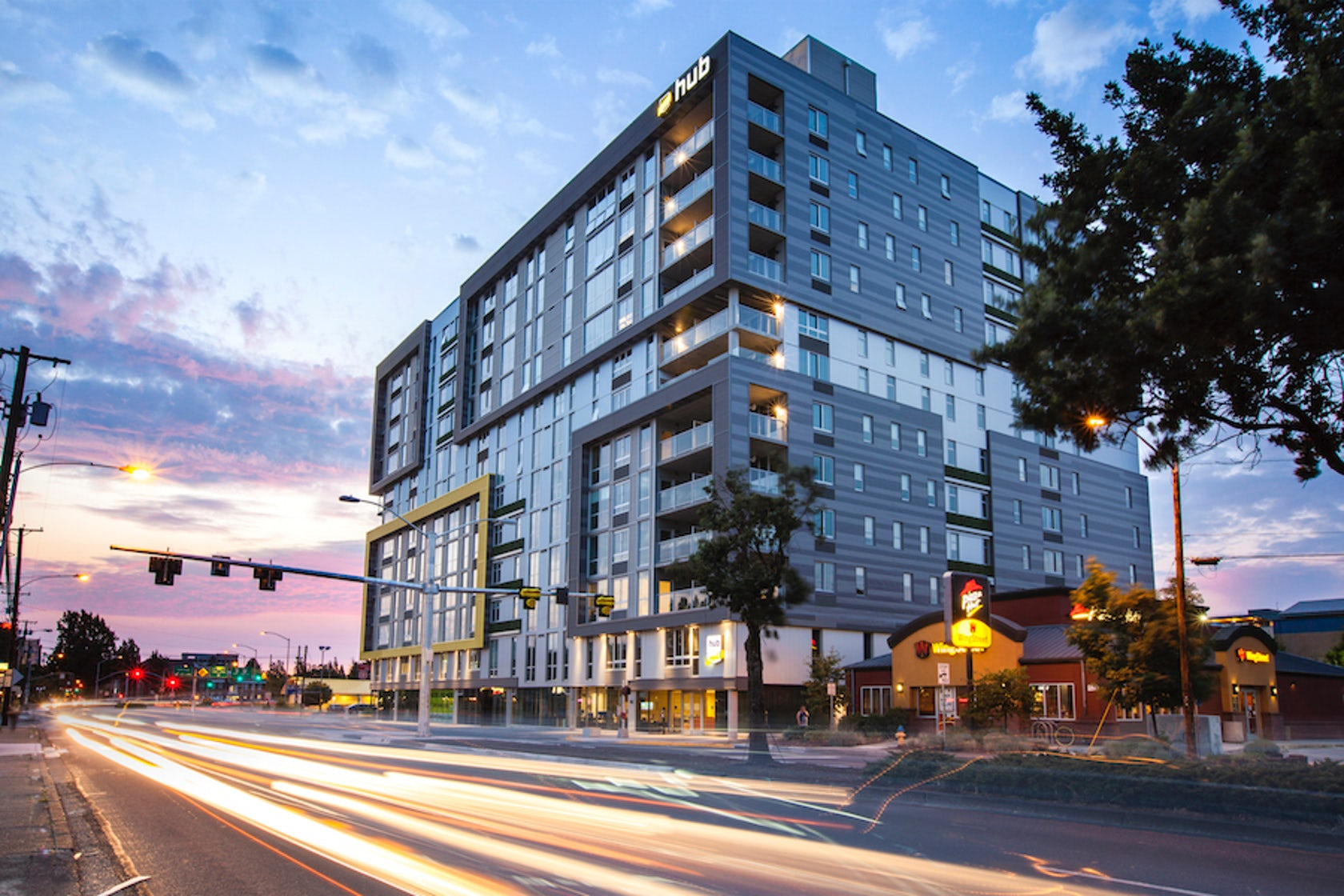Hub at eugene architizer for Residential architects eugene oregon