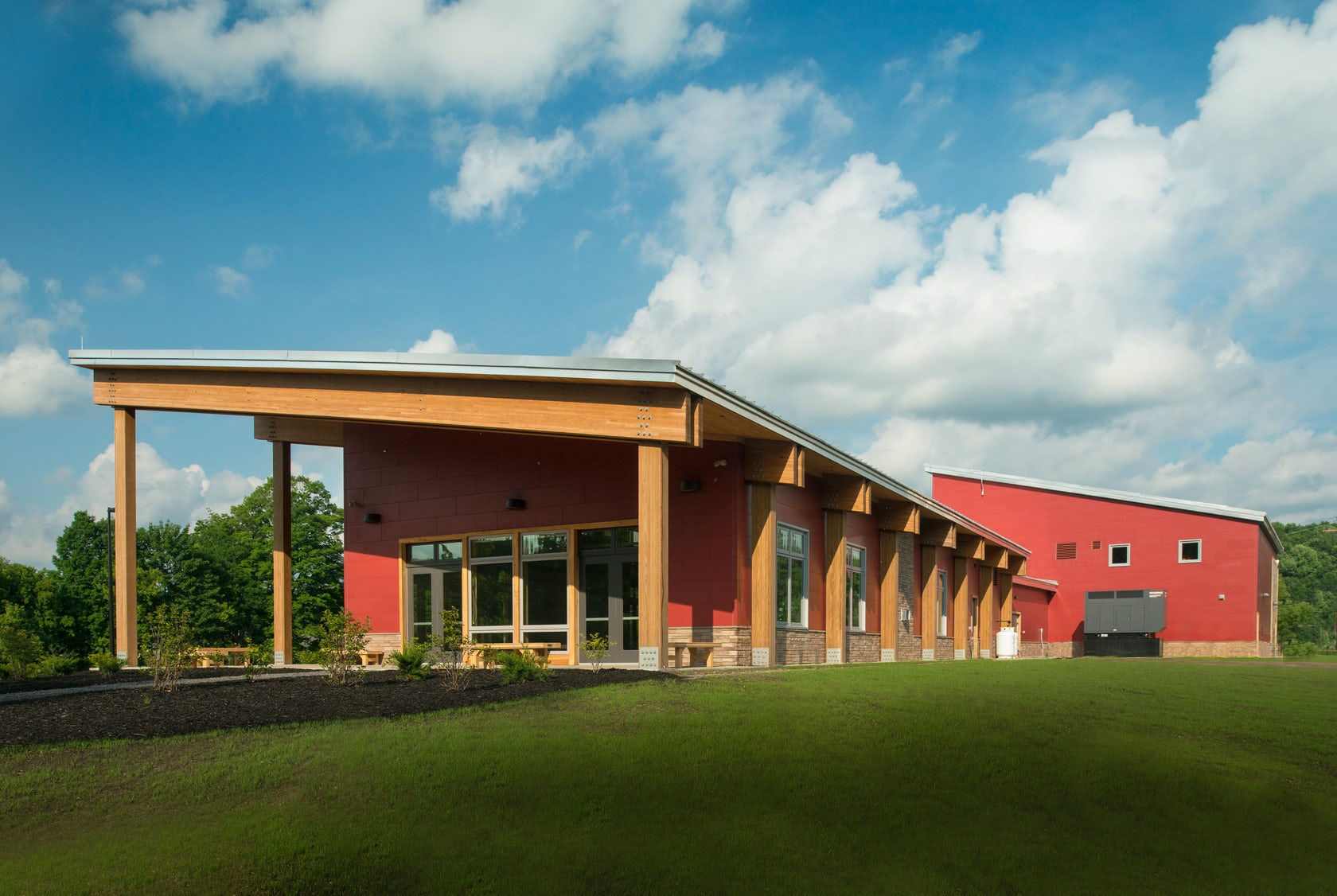 Onondaga Nation Fire Station/Community Hall on Architizer