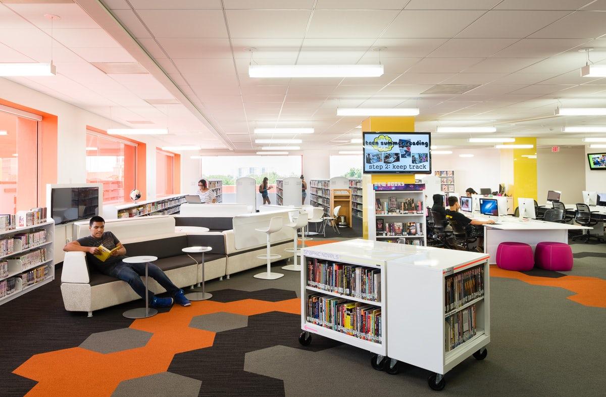 City Of San Antonio Central Library Renovations Teen