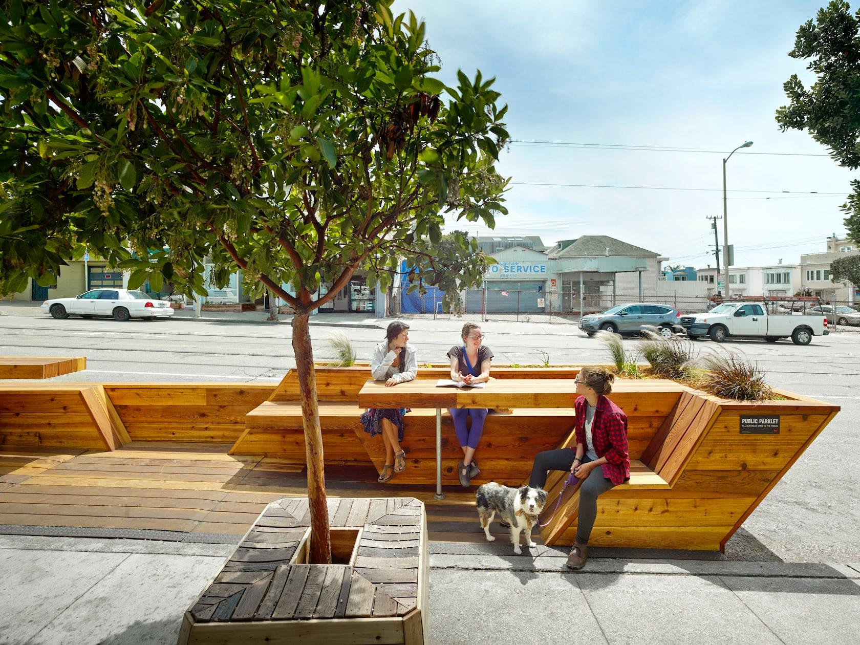 Sunset Parklet Architizer
