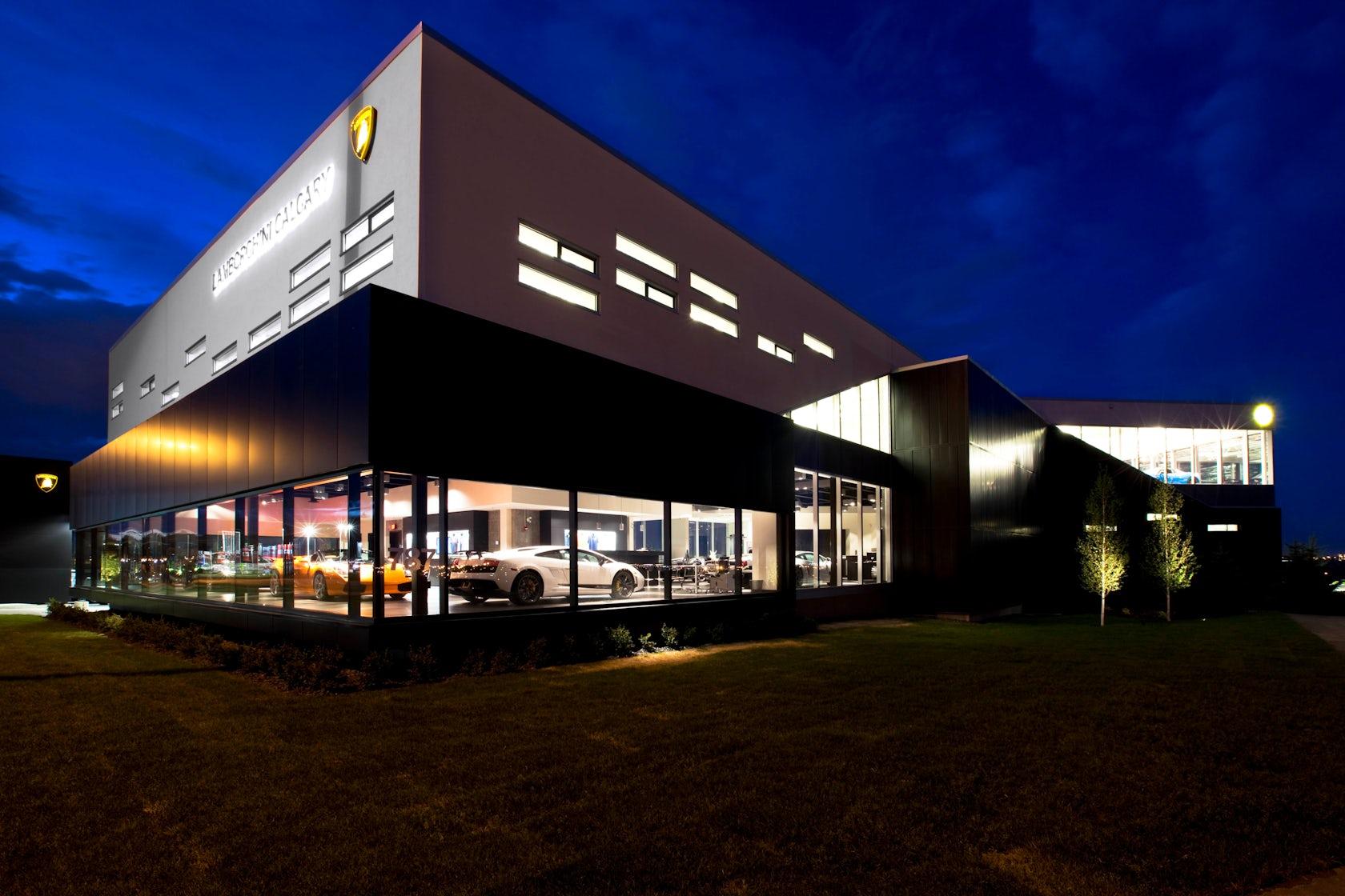 Lamborghini Calgary Showroom On Architizer