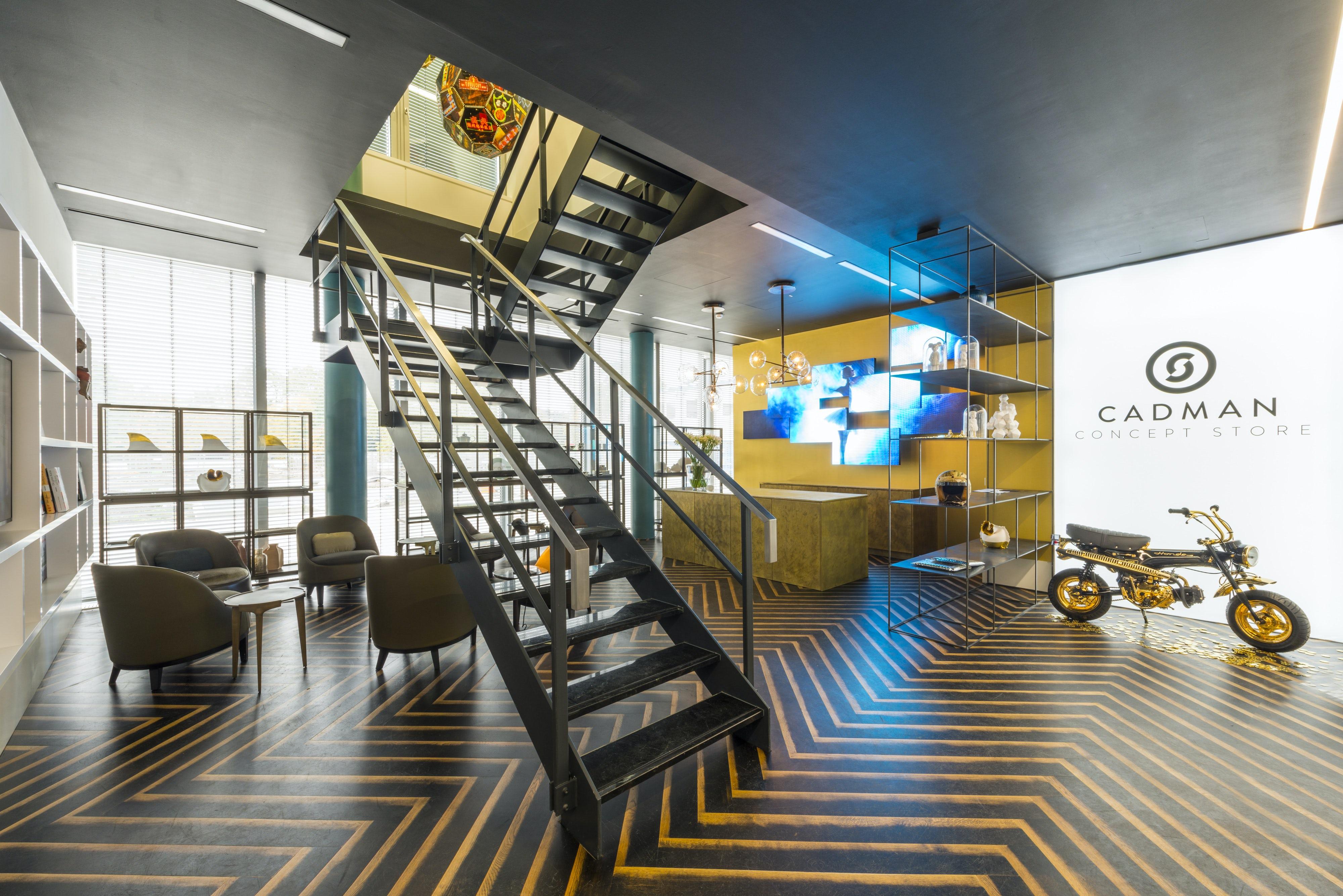 Cadman Düsseldorf cadman concept store on architizer