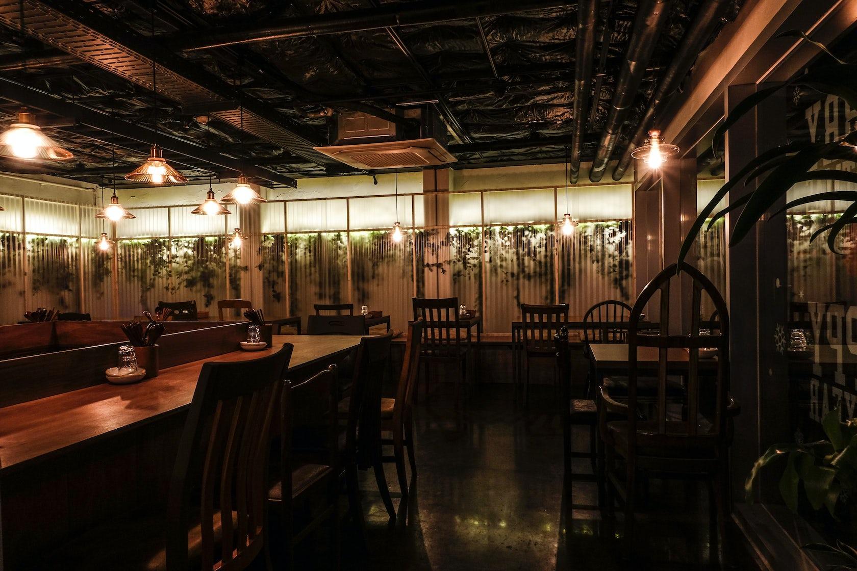 Late night restaurant interior design in seoul architizer