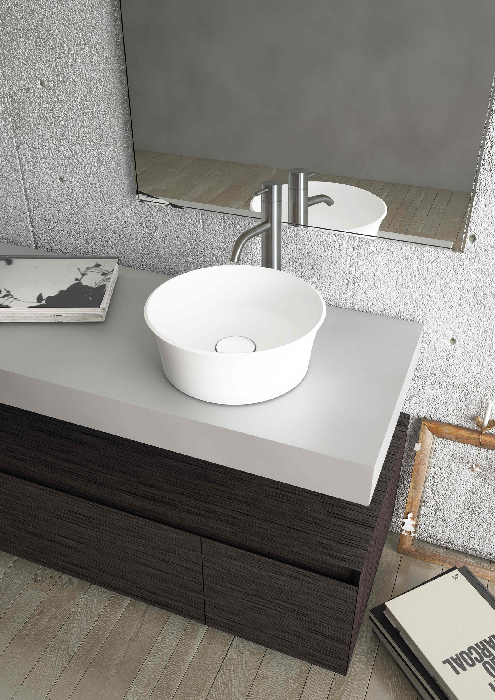 New bathware for 2016 architizer for Odd shaped kitchen sinks