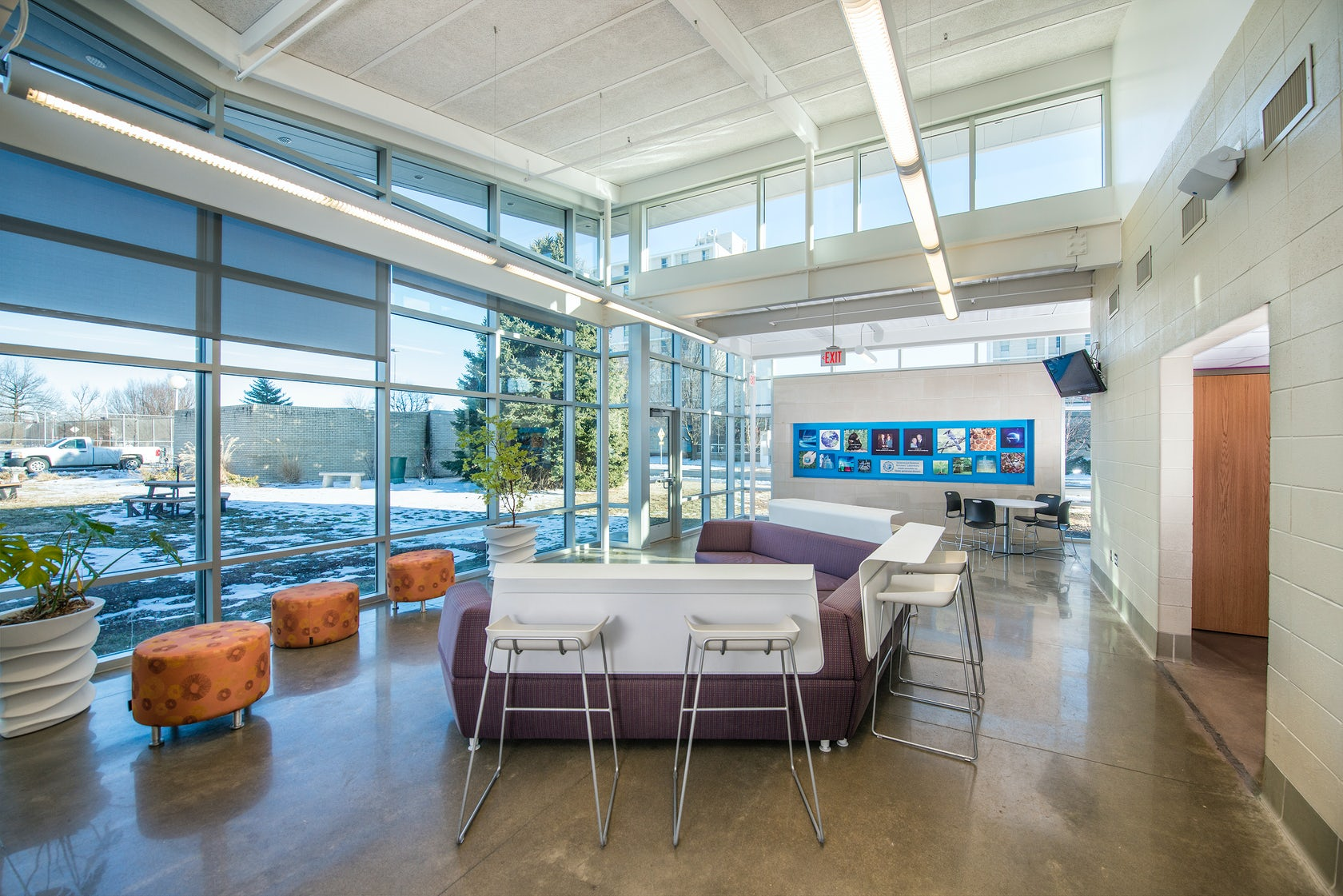Greenwood lab school science scholars addition architizer for Acacia salon loveland