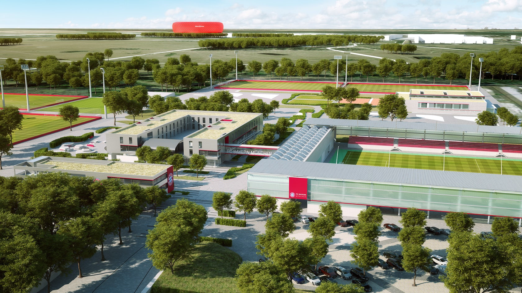 New Sports Ground With Youth Academy For Fc Bayern M 252 Nchen