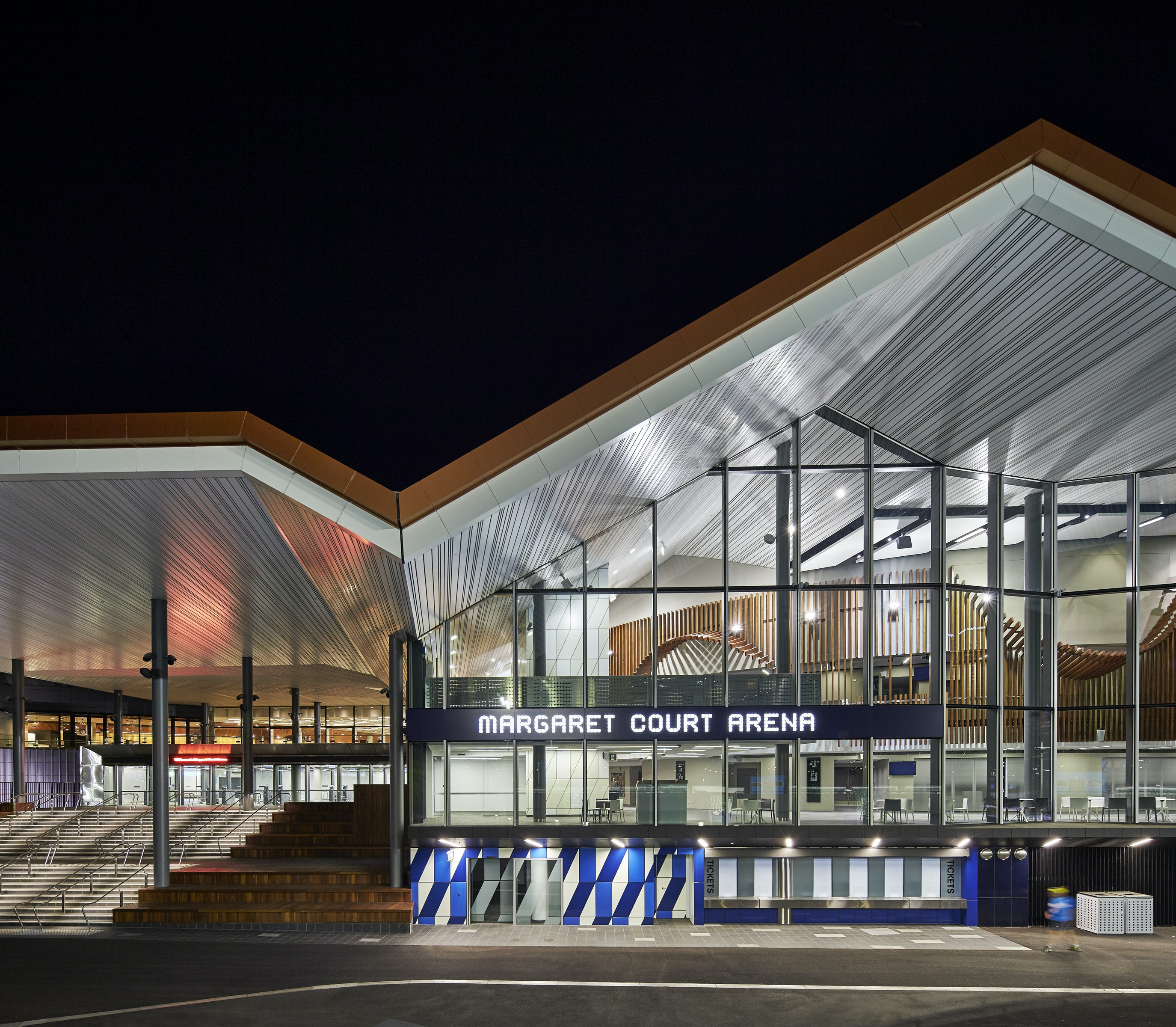 Margaret Court Arena on Architizer