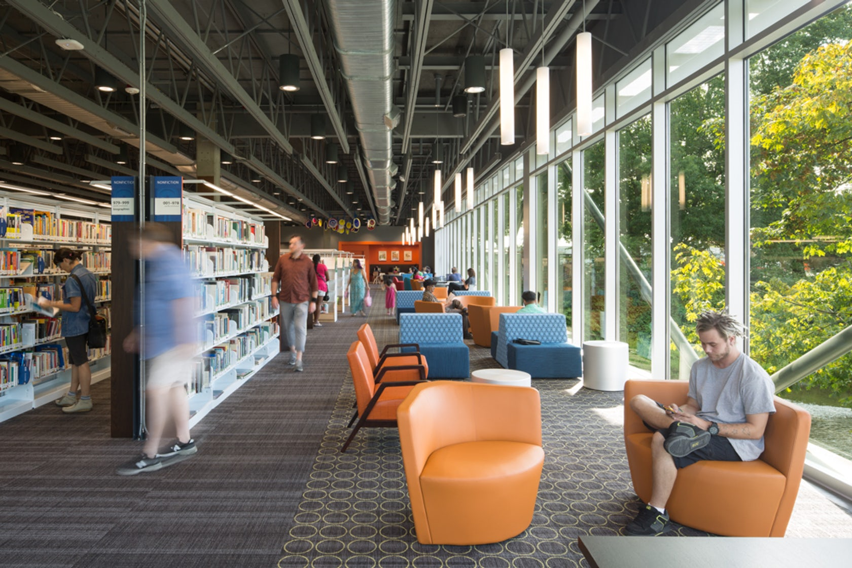Renton public library architizer - Interior design jobs washington state ...