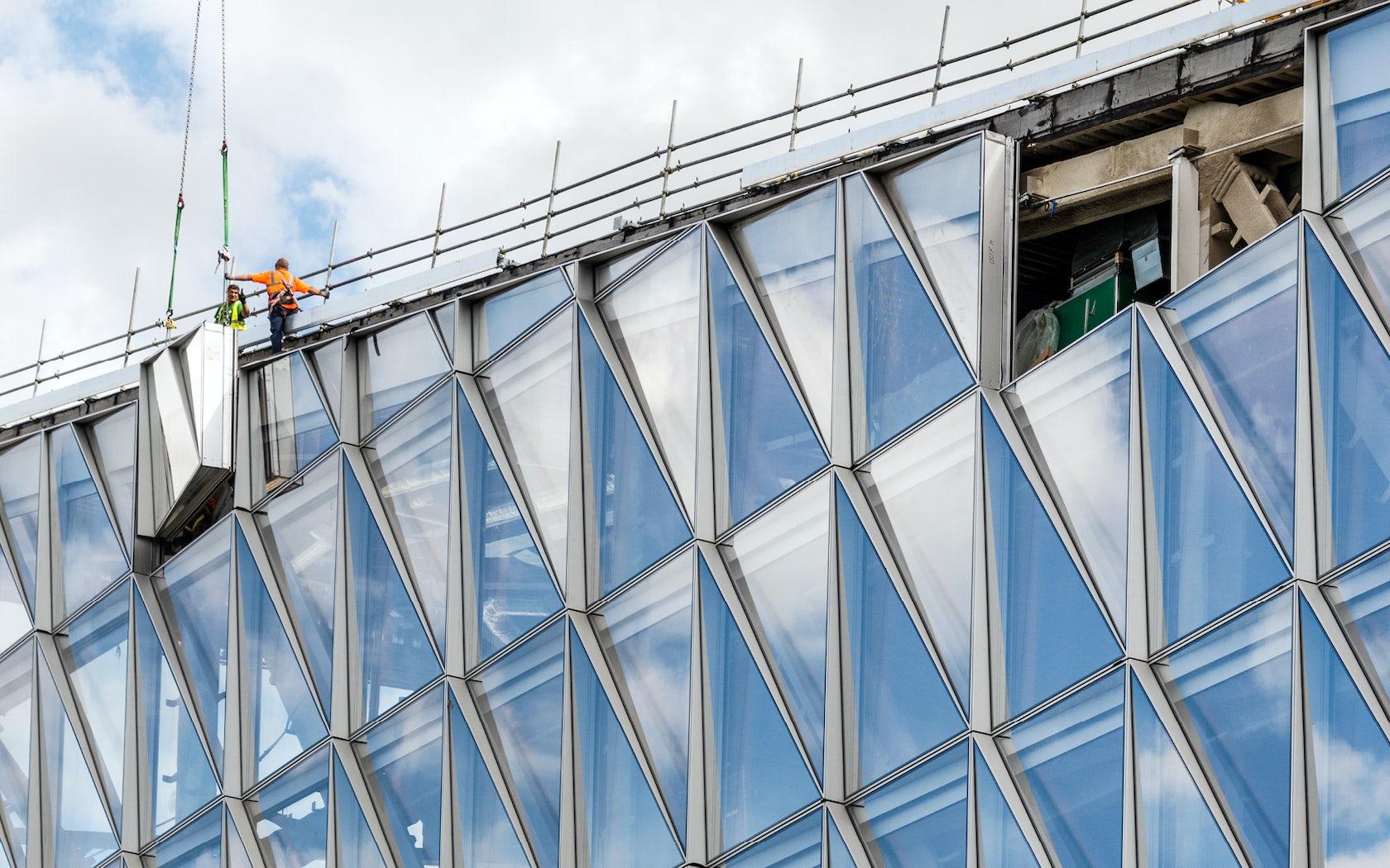Facade Curtain Wall : Closed cavity facade architizer