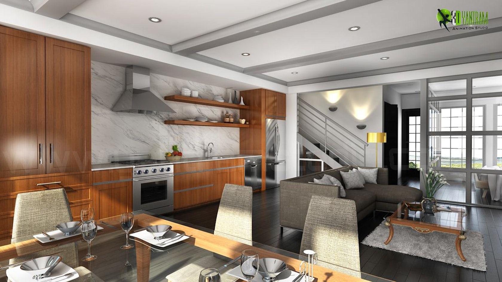 Kitchen interior design architizer Residential kitchen interior design