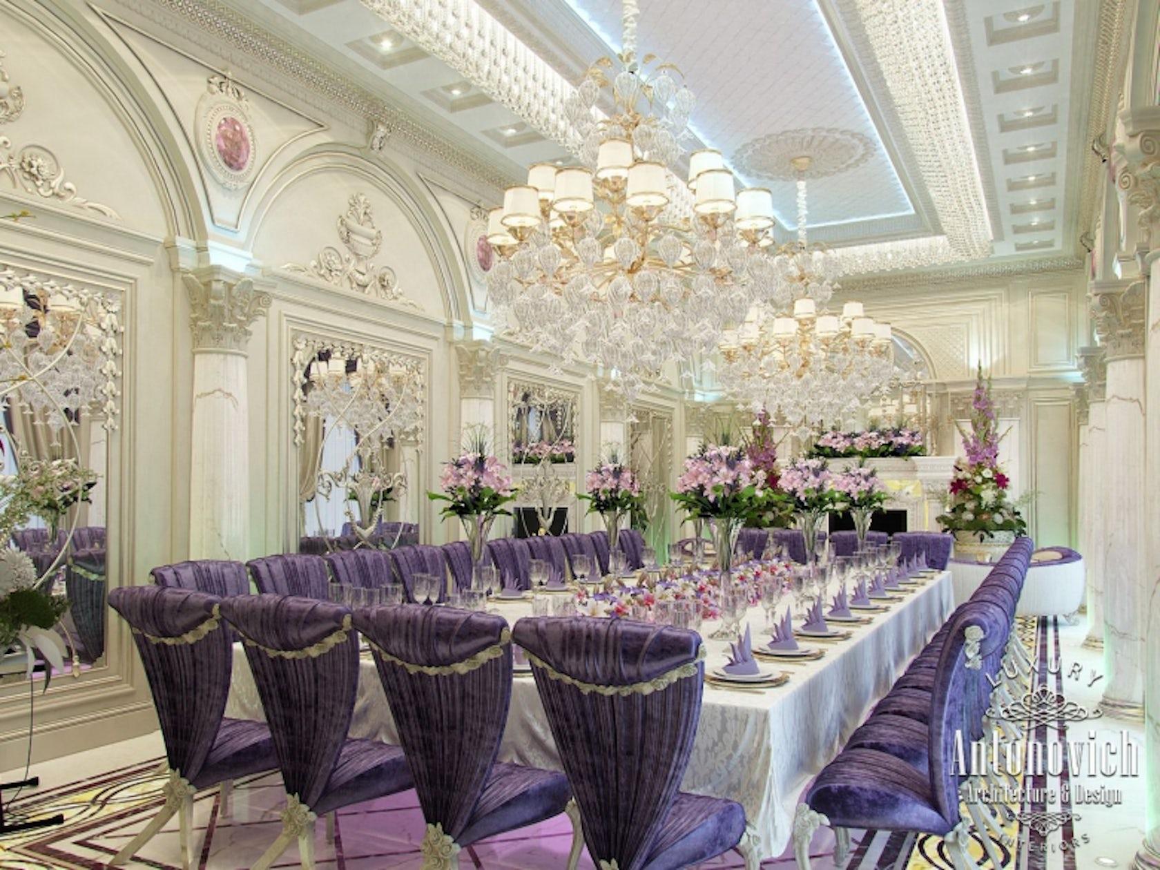 Restaurant interior design dubai from antonovich