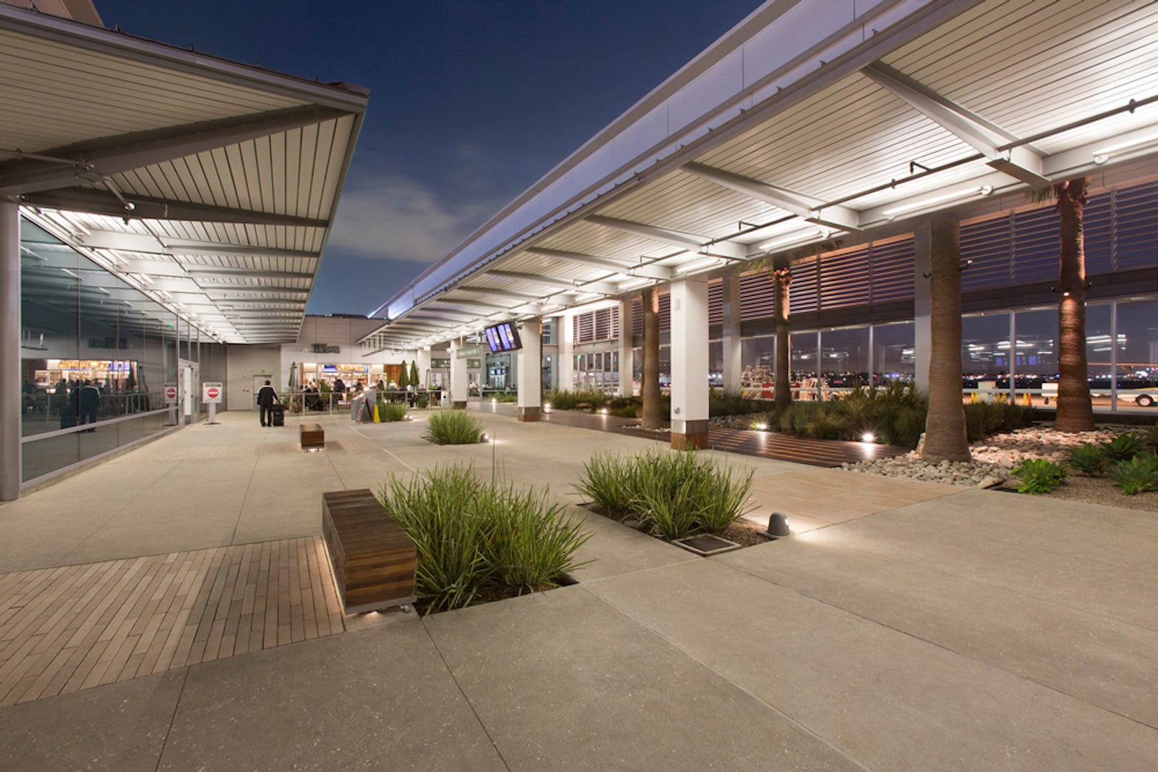 long beach international airport modernization architizer