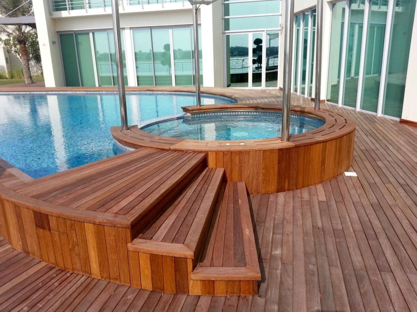 Exterpark ipe bespoke swimming pool architizer for Bespoke swimming pools