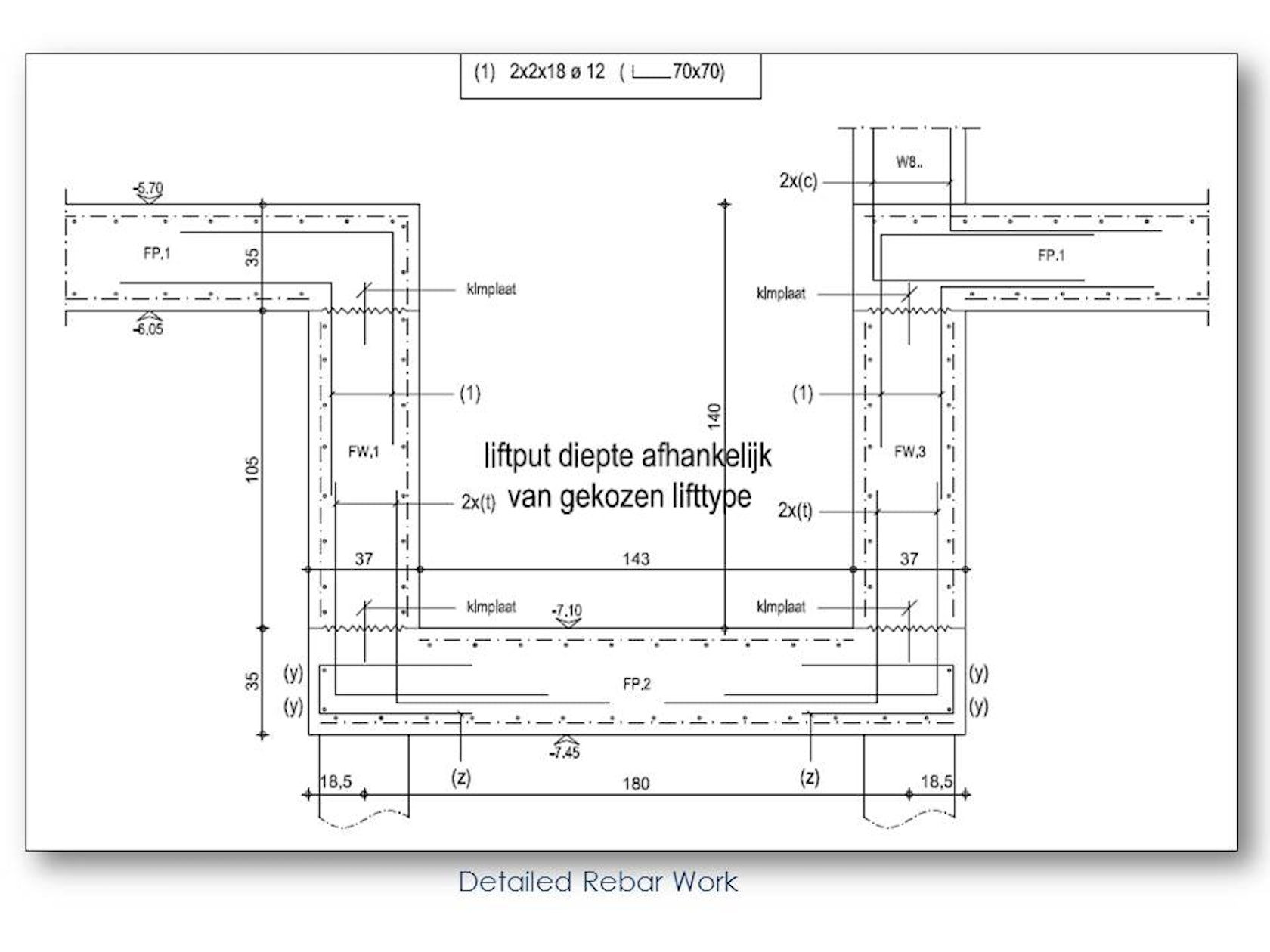 Rebar Detailing And Bar Bending Schedules For A