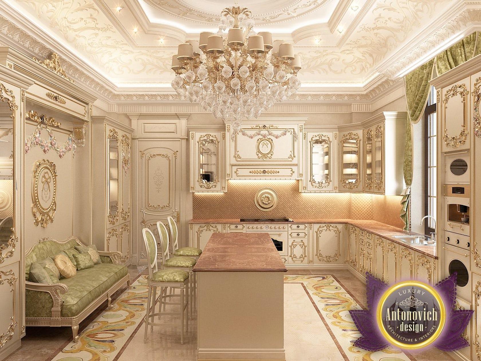 Kitchen design from luxury antonovich design on architizer