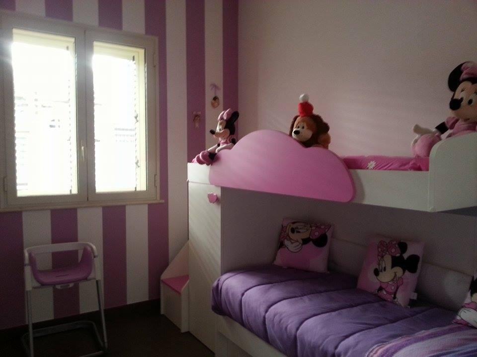 Cameretta Lilla E Bianca : Cameretta bambini rosa lilla e bianco on architizer