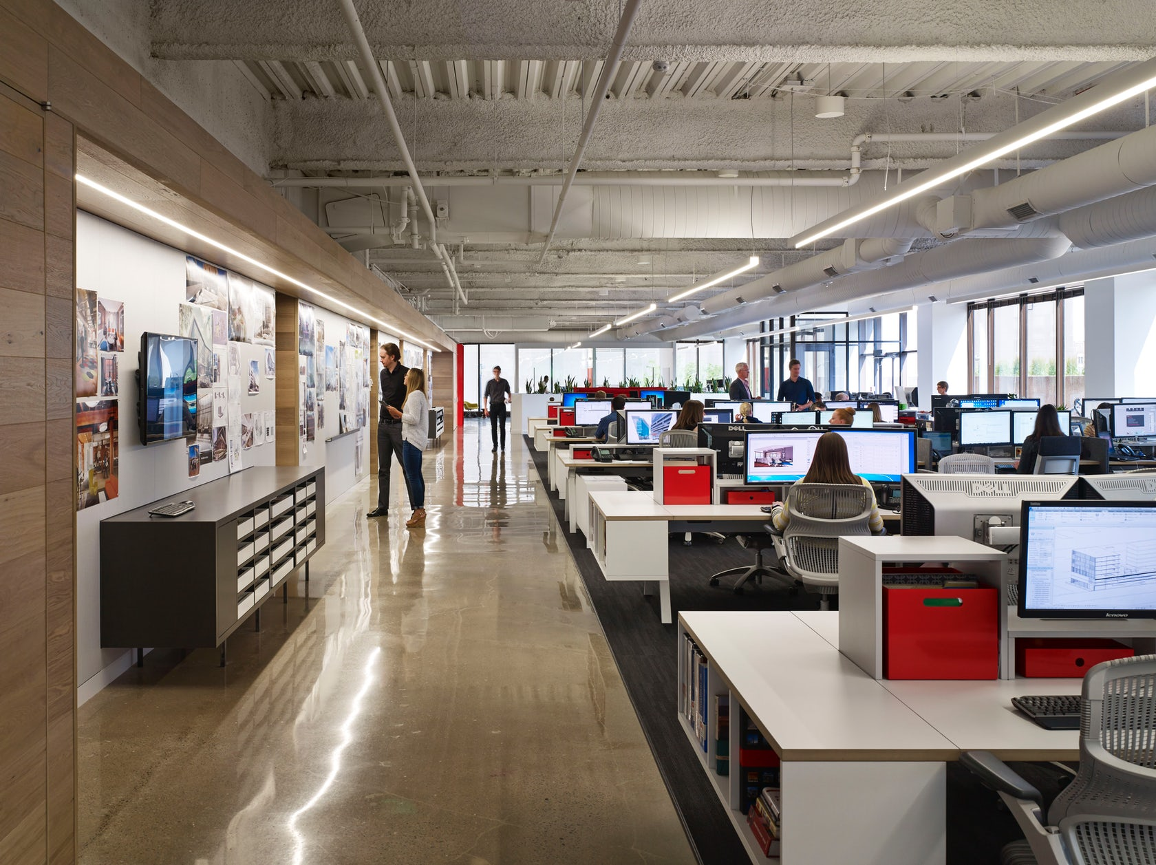 Gensler Denver Office Architizer