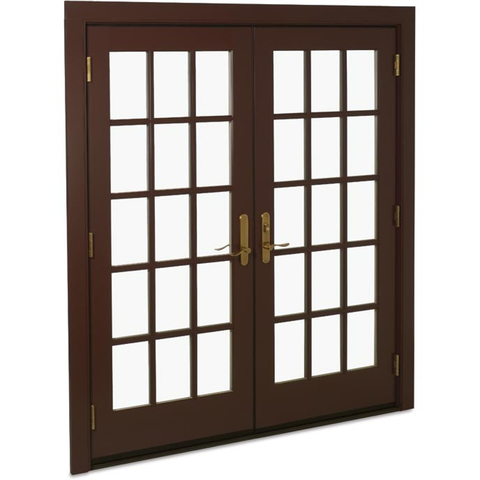Swinging french door
