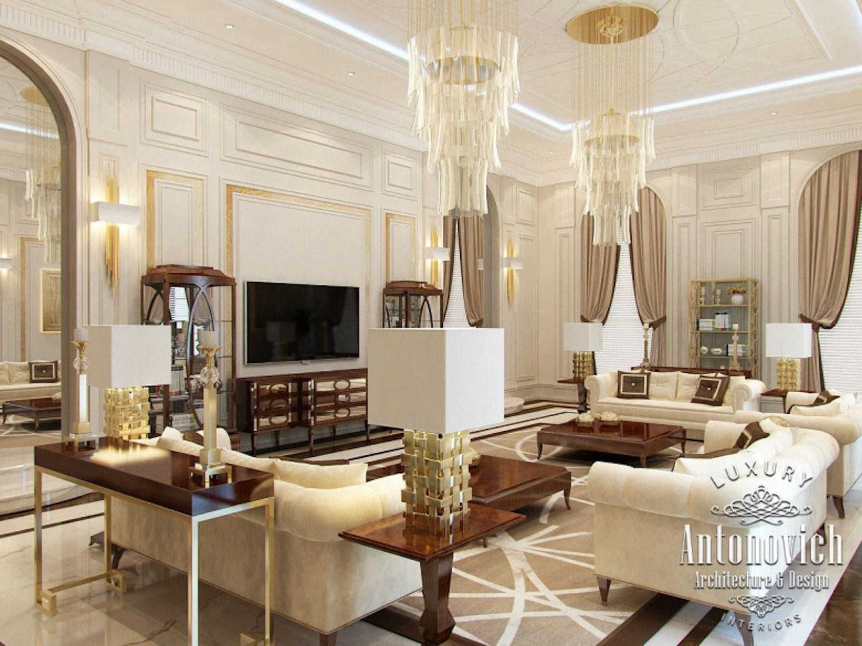 Beautiful Living Rooms From Luxury Antonovich Design
