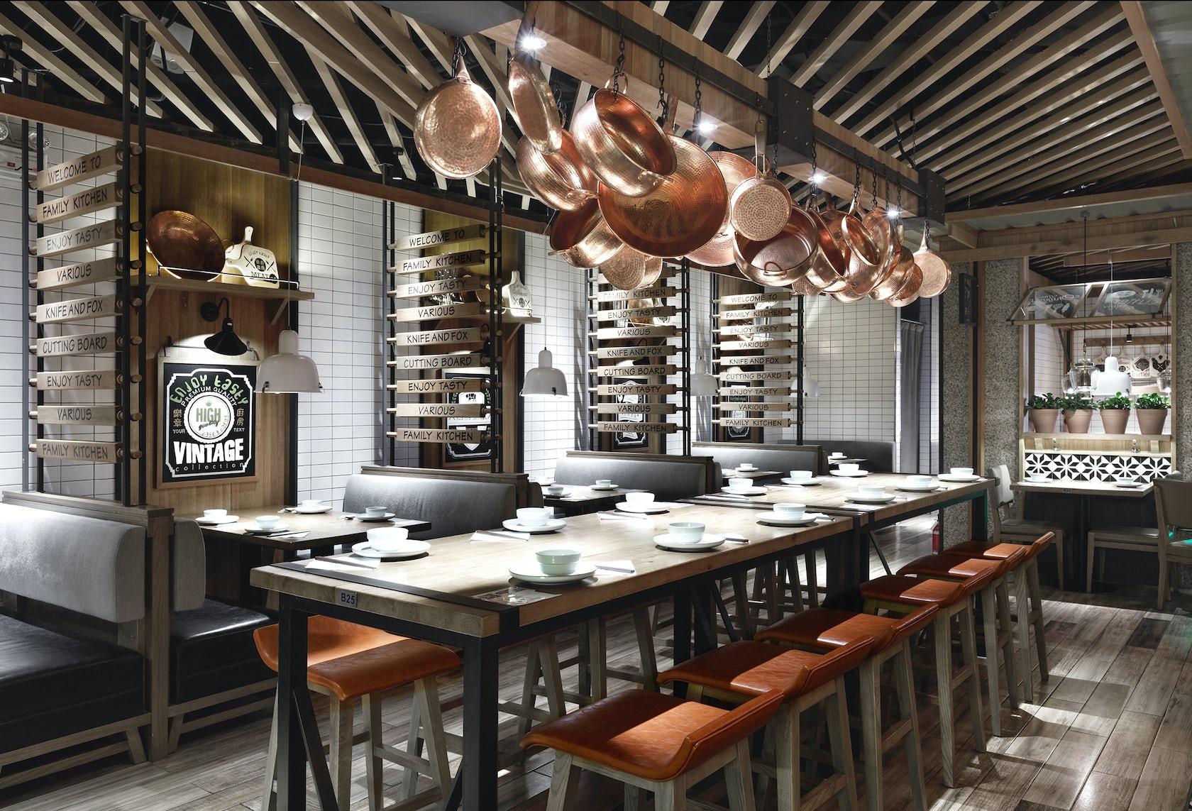 Restaurant kitchen opus architizer